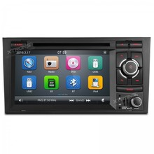 "7"" 2 din car audio Touch Screen stereo DVD Player with GPS Navigation for Audi A4  / S4 / RS4 (2002-2008) / Seat Exeo 2009-2012"
