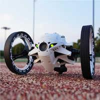 RC rebote coche 2,4G salto coche sin cámara o con cámara WIFI 2.0mp ruedas flexibles rotación LED luz de noche RC Robot Coche