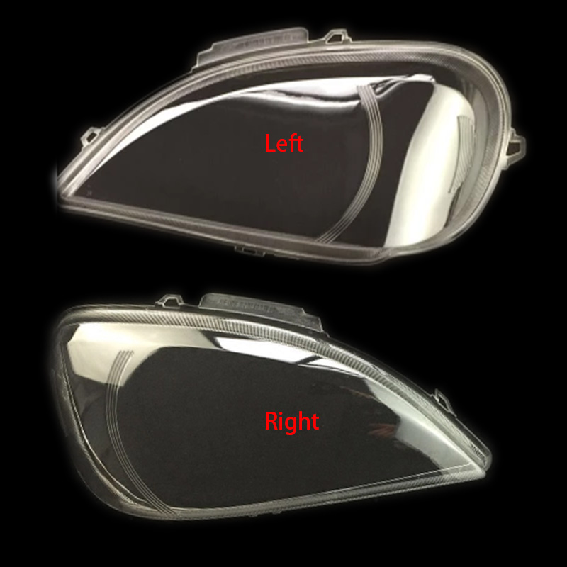 For Benz W163 ML320 ML350 ML500 Headlights Transparent Headlights Transparent Cover Lampshdade Headlamp Shell