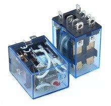 1 шт. реле LY2NJ 110 В постоянного тока 110 В переменного тока 220 В переменного тока 380 в маленькое реле 10 А 8 контактов катушка DPDT