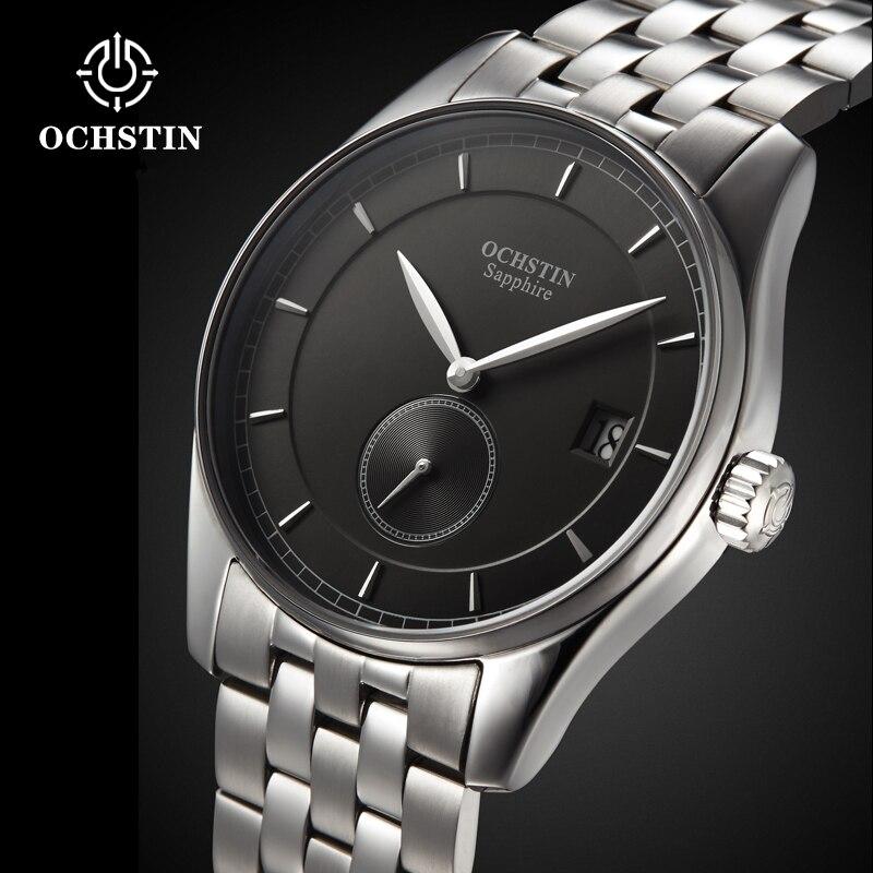 OCHSTIN montres de sport pour hommes montre-bracelet de mode étanche horloge à Quartz mâle nouvelle Date automatique en acier inoxydable Relogio Masculino - 2
