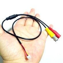 Câble taille 3core pour caméra de vidéosurveillance