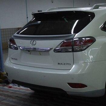 Pour Lexus RX Series RX200 RX270 RX350 Becquet Noir 2013-2016 Voiture ABS Plastique Non Peint Couleur Aile De Coffre Arrière Lèvre Blanc Becquet