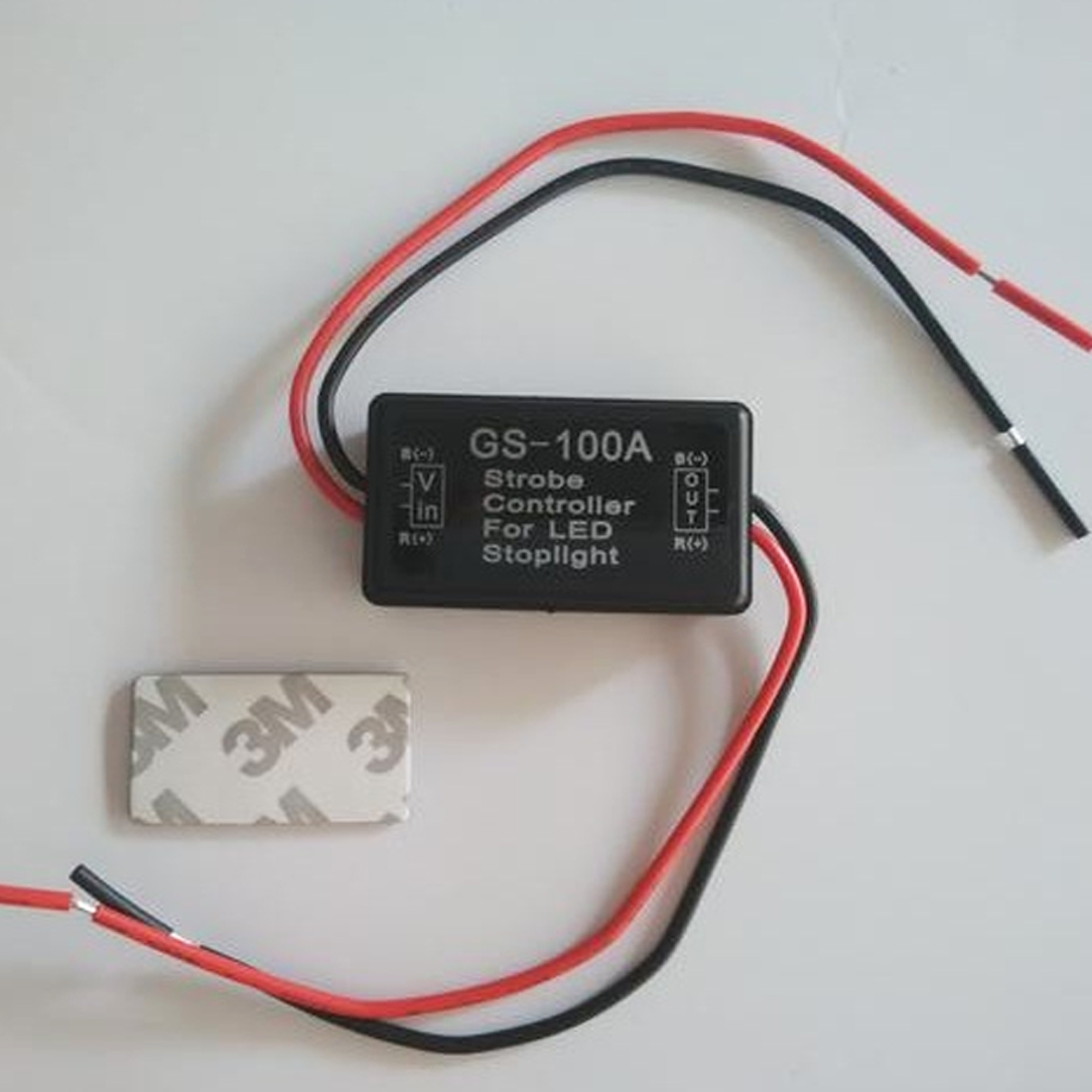 Dewtreetali Good Sale GS-100A 12--24V Flash Strobe Controller Flasher for LED Flashing Back Rear Brake Stop Light Lamp