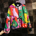 Cool Japan Designer Harajuku Girls Spring Autumn Clothing Full Printed Stylish Women Jackets for Sale Veste Femme Manche Longue