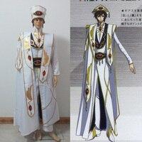 Косплэй Аниме Code Geass император Косплэй костюм Lelouch бунт по индивидуальному заказу