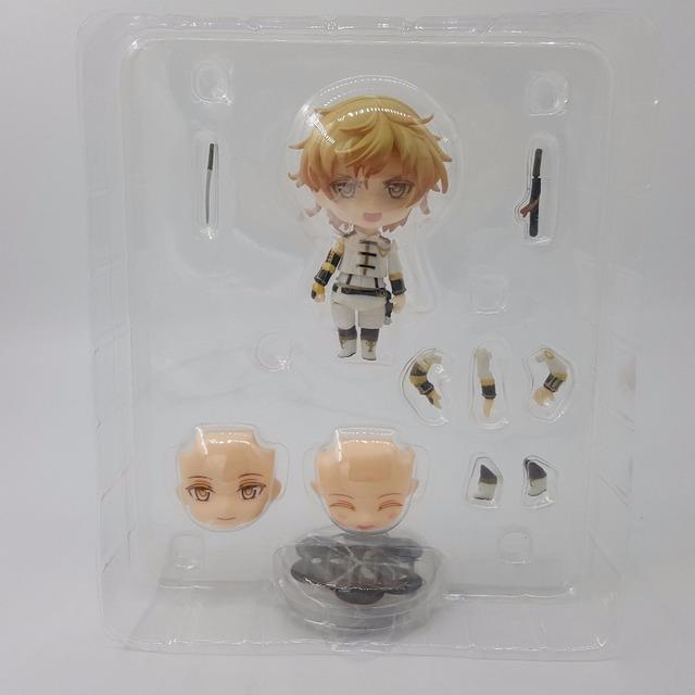 Touken Ranbu Online Action Figure Monoyoshi Sadamune 651# Nendoroid PVC 100mm Anime Touken Ranbu Online Model Toys Doll
