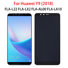 5.93 LCD For Huawei Y9 2018 FLA L22 FLA-AL00 LA10 LX1 LX2 LX3 Display Phone Touch Screen Digitizer Assembly Replacement