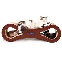 Pet cat scratch board 8 shape corrugated paper claw toy pet supplies