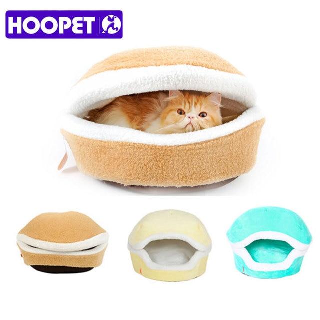 Warm Cat Hamburger Bed  4