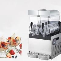 Commercial Ice Snow Melting machine/Three Tank Slush Machine/Cold Drink Maker/Smoothies Granita Machine/Sand ice machine