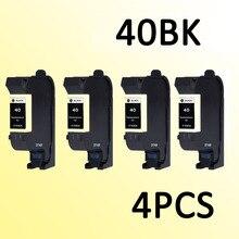 4 unids cartucho de tinta compatible para hp40 hp 51640A 40 D2680 F4240 F4280 F4435 F4440 F4480 F4580 D5560 Todo-in-One Printer