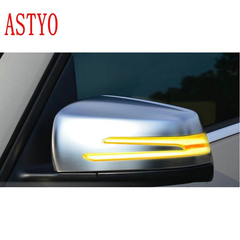 ASTYO pour Benz A B C E S CLA GLA CLS classe W176 W246 W204 W212 C117 X156 indicateur de rétroviseur latéral lumière LED de clignotant dynamique
