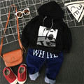 In the autumn of 2016 new boys Hoodie collocation personality jeans free shipping