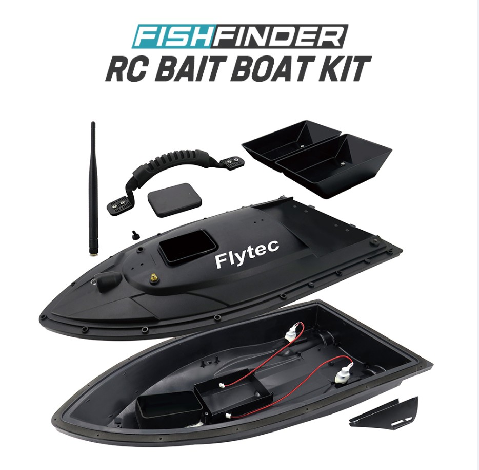 Flytec 5 поколения RC тела лодки для удаленного двойной склад Рыболокаторы Электрический приманки Рыбалка двойной мотор игрушки части