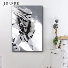 Star Wars 7 Minimalist Art Silk Poster Darth Vader Stormtrooper Movie Wall Picture Print Home Bedroom Decoration