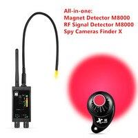 Venta 1 MHz 12 GHz Detector de Sensor de Imán oculto detectores de señal espía inalámbrico RF