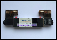 1Pcs 4V230E 08 DC 24V 5Way 3Position Dual Solenoid Pneumatic Air Valve 1 4 BSPT Free