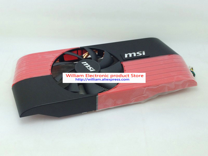 New Original for MSI HD6790 1G graphics Extreme heat pipe direct touch radiator Radiator cooling fan