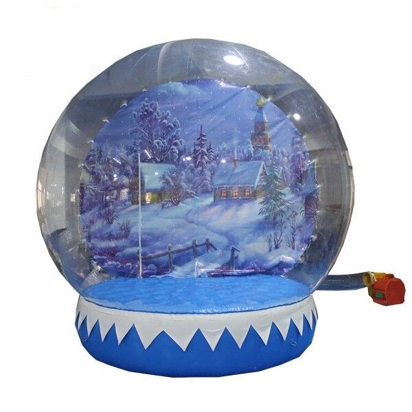3М на напухавање прозирна лопта оглашавање груда снијега за Цхрисмас декорација напухавање балони могу бити прилагођени
