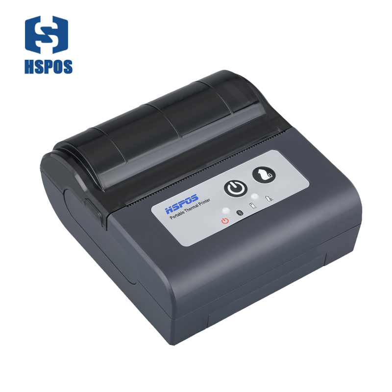 High quality wifi portable 80mm thermal printer support raster Bitmap Printing mobile printer with 1500mAH battery for catering купить недорого в Москве