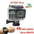 "Sports Camera 2.0""ultra 4k 10fps 1080p Full HD Camera Extreme AT300 Plus Sport DV Action Camera 30M Waterproof 2.4G RF remote"