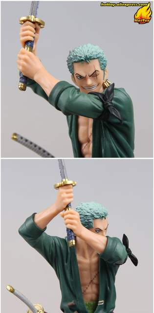 US $39 6 34% OFF|100% Original Banpresto Kenshi No Setsuna Swordsmen Moment  vol 1 Collection Figure Roronoa Zoro from