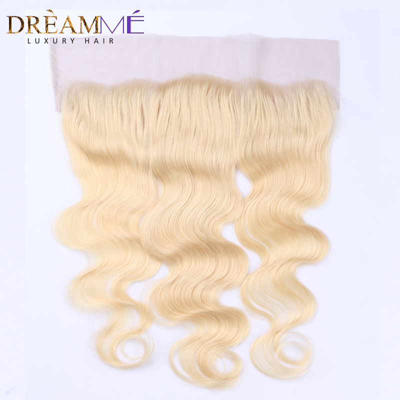 Dreamme Hair # 613 Barva las čelnih čelnih zaprtja Brazilski - Človeški lasje (za črne) - Fotografija 1