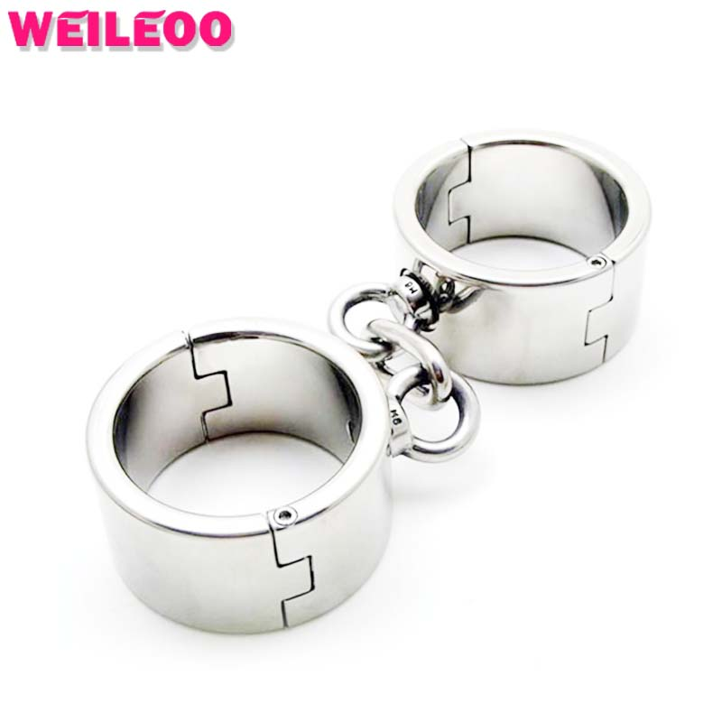full metal hand cuffs handcuffs for sex toys bdsm bondage set fetish slave bdsm sex toys for couples adult games erotic toys left standing device with hand cuffs dildo alternative games fetish restraints bondage erotic slave bondage sex toys for couples
