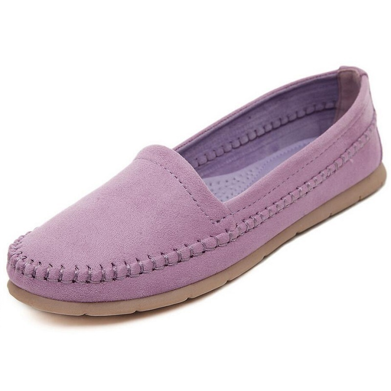 Women Shoes 2017 Comfortable Women's Flats Woman Causal sapato feminino Round Toe Loafers Shoes Slip On Womens Shoes Moccasins 2017 summer new fashion sexy lace ladies flats shoes womens pointed toe shallow flats shoes black slip on casual loafers t033109