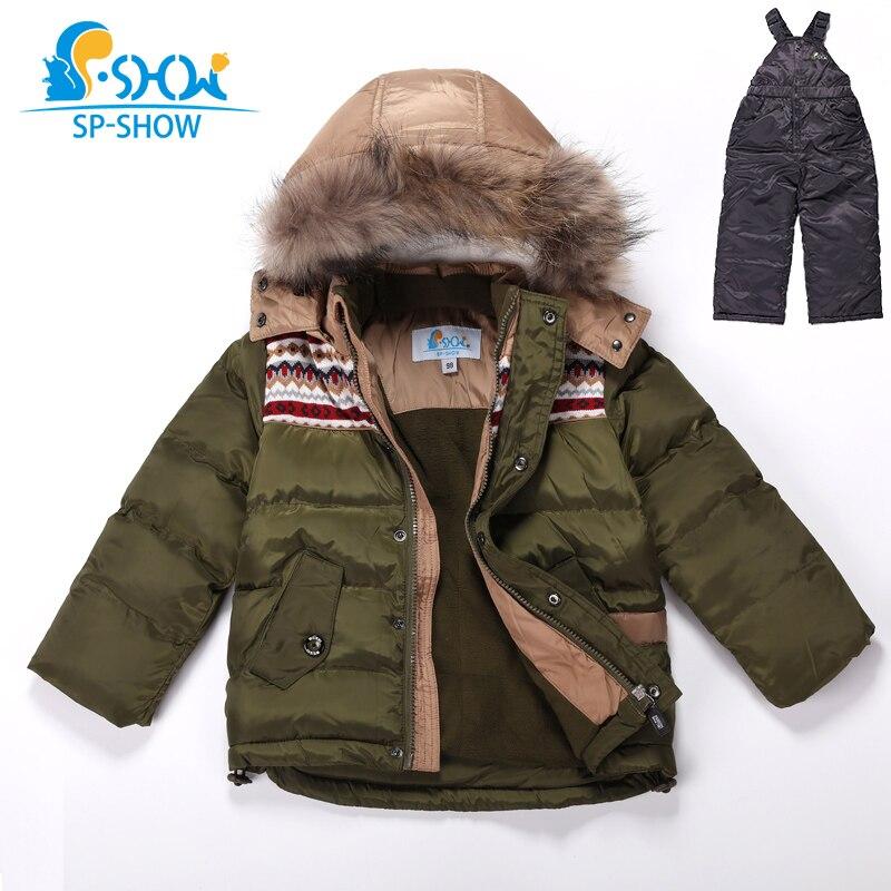 одежда для детей 3-7 лет ,куртки для мальчиков ,бесплатная доставка ,новая коллекция зима 2018г,детский утолщенный комплект , натуральный густо...