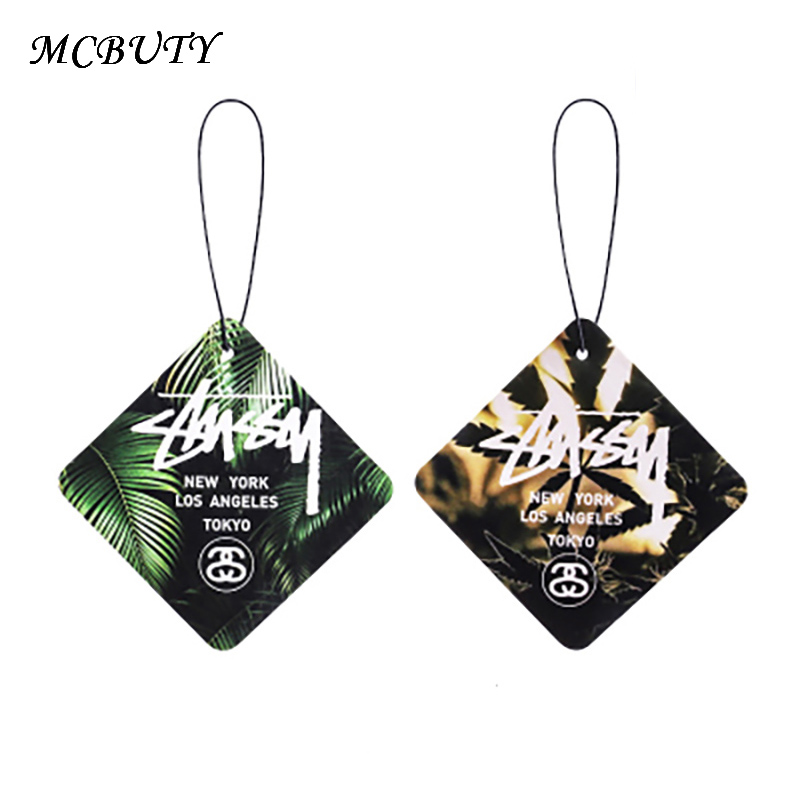 2pcs Car Air Freshener Auto Hanging Perfumed Fragrance Papers Cologne Air-feshener Multi-purpose Perfume Car  Good Smell