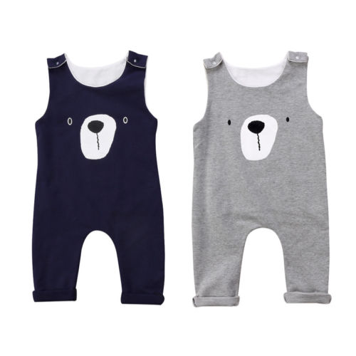 Pudcoco Baby Kids Boy Girl Infant   Romper   Jumpsuit Cotton Clothes Outfit Set