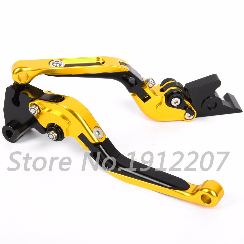 ФОТО For Ducati Monster 1100S/ABS 2009-2013 Foldable Extendable Brake Clutch Levers Aluminum Alloy CNC Folding&Extending High Quality