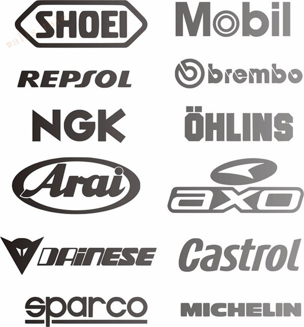 Kuhlen Auto Sponsor Aufkleber Pack Racing Sponsoren Logo Sport