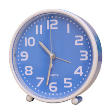 5Color Cube Quartz Table Clock Modern Timer Snooze Alarm Clock Display Desk Gadget para Children Toy Gifts Digital Alarm Clock