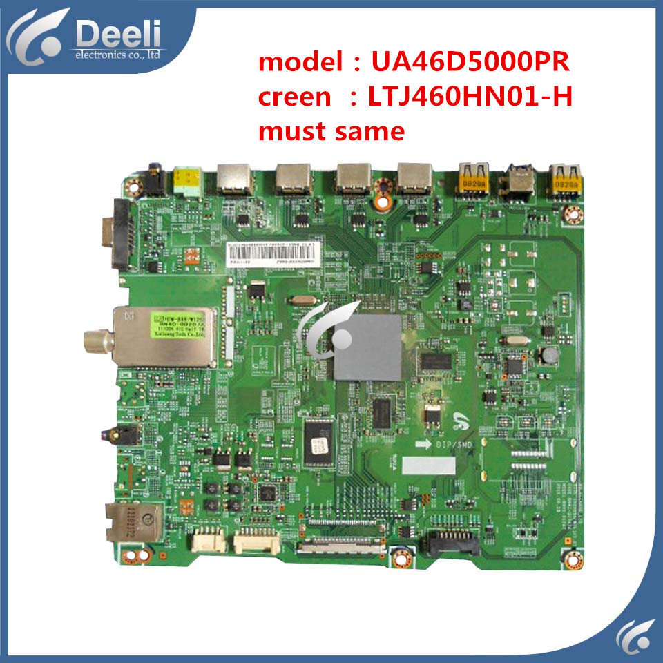 все цены на  good Working original 95% new for UA46D5000PR motherboard BN41-01747A BN91-07069U screen LTJ460HN01-H Board  онлайн