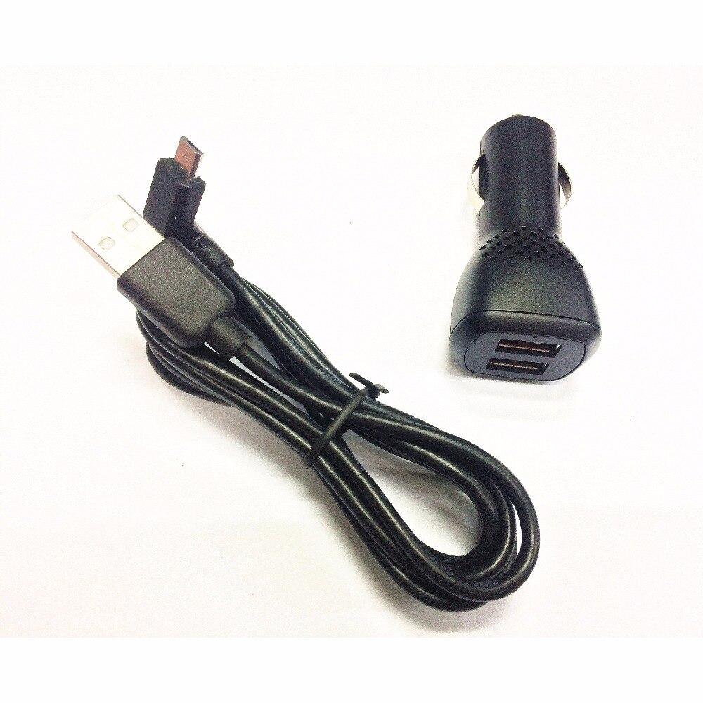 US $8.36 12% OFF|Podwójna ładowarka samochodowa USB i kabel Micro USB do swojej Tomtom Start 25 50 60|charger charger|charger dualcharger for