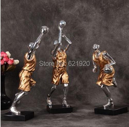 Creatieve Decoratie Ideeen.Grote Kerstcadeau Hars Woondecoratie Ideeen Basketbal Kid