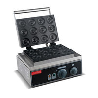 1PC Electric 12hole ROUND CAKE GRILL sweet donut maker electric for cake baker waffle maker/Cookie machine donut fryer