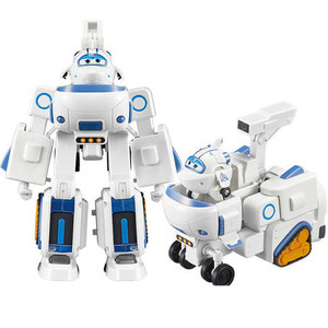 Image 5 - HOT 17*11cm Super Wings toys Airplane ABS Action Figures Super Wing Transformation Robot Jet Animation for birthday gifts