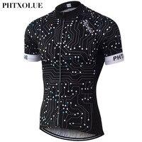 PHTXOLUE D'été Cyclisme Clothing Hommes/Respirant À Séchage Rapide Vélo Jersey/Vélo Cyle Vêtements Usure Vélo Jersey 2016 QY066
