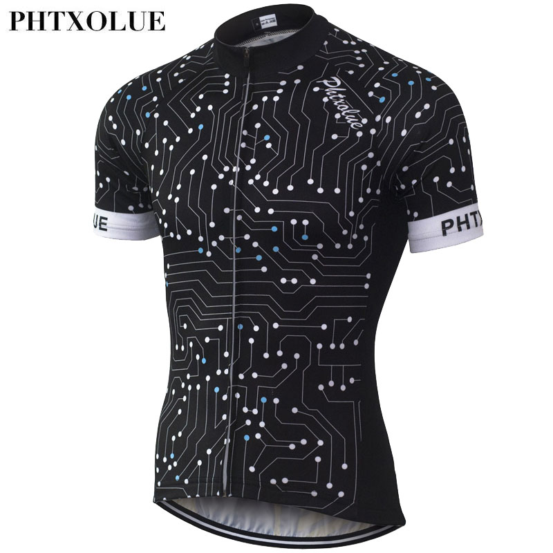 PHTXOLUE Summer Cycling Clothing Men/Breathable Quick-Dry Bike Jersey/Bicycle Cyle Clothes Wear Cycling Jerseys 2016 QY066 aubig cool unisex ladies men summer breathable elasctisch cycling clothing full zip jerseys radshorts suit