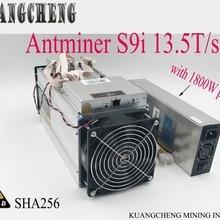 85~ 95% старый minerFree Shpping AntMiner S913.5T Asic Майнер BTC BCH 16nm битмейн горнодобывающая машина форма KUANGCHENG