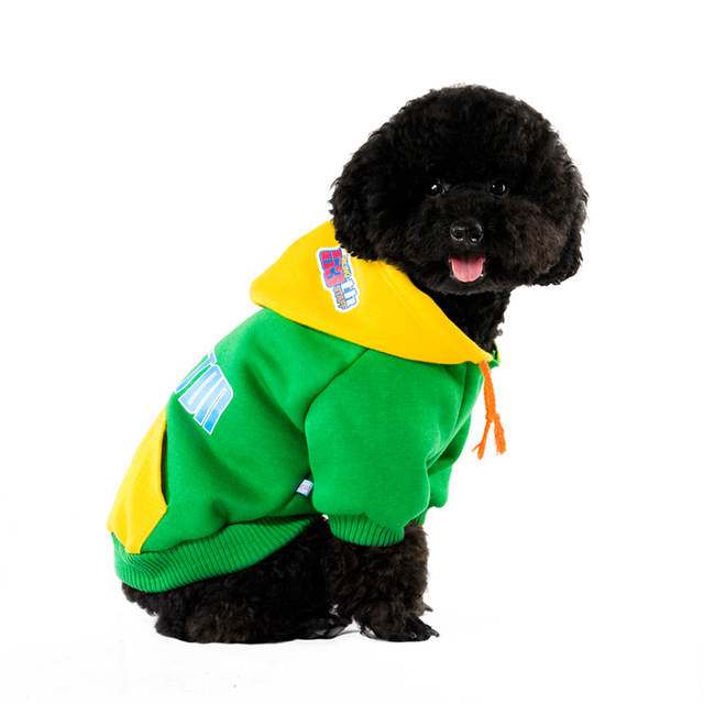 8edc6601f322 New WAGETON Designer Dog Clothes Wholesale And Retail Pet Puppy Cat Coat  Hoodie Sweater T Shirt Costumes 4 Colors Apparel-in Dog Hoodies from Home &  Garden ...