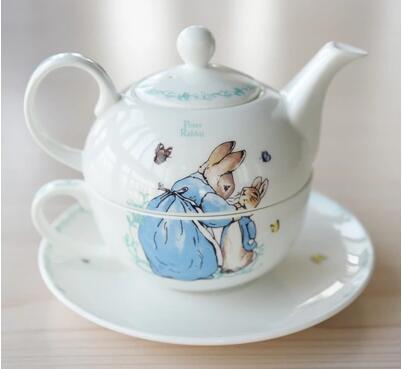 Afternoon tea set tea teapot cup English bone china tea cup single ceramic cute cartoon