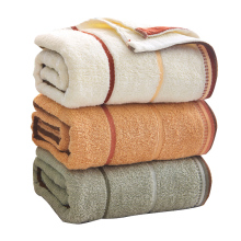 bath towels for adults  100% Cotton 70x140cm  towels bathroom Solid color bath towel цена
