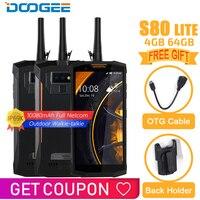 IP68/IP69K DOOGEE S80 Lite мобильный телефон беспроводной зарядки NFC 10080 мАч 12V2A 5,99 FHD Helio P23 Восьмиядерный 4 Гб 64 Гб Andriod 8,1