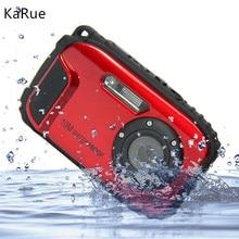 karue Waterproof Camera Digital 16MP 2.7′ Photo Camera 8x Zoom Instax Camara  Anti-shake Video Camcorder