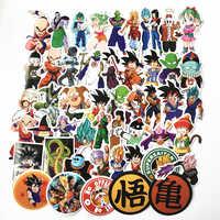 TD ZW 2019 50 teile/los Anime Dragon Ball Aufkleber Super Saiyan Goku Aufkleber Aufkleber Für Snowboard Gepäck Auto Kühlschrank Laptop aufkleber
